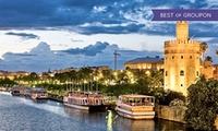 Entrada al espectáculo 'El Barco del Humor' con paseo por el Guadalquivir y opción a copa para 2 o 4 desde 16,95 €