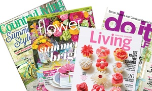 Up to 75% Off Magazine Subscription at Home & Garden Magazines, plus 6.0% Cash Back from Ebates.