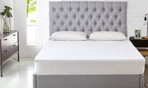 Waterproof and Breathable Fitted Terry Mattress Protector