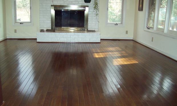 Wood Floor Refinishing And Polishing Mr Sandless Groupon