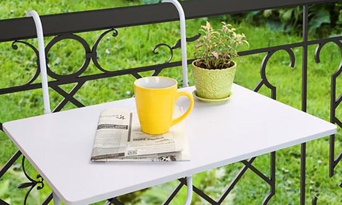Tavolino agganciabile da balcone | Groupon