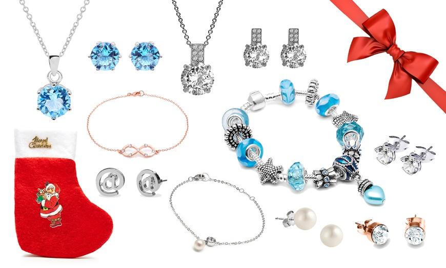 Ensemble de 25 bijoux The Gemseller ornés de cristaux Swarovski® livrée  dans la