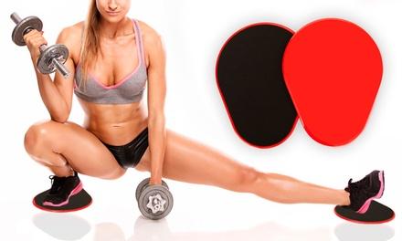 1 ou 2 paires de disques antidérapants pour la pratique du fitness dès 7,90€