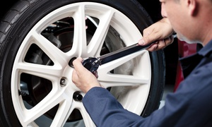 Cleve-Hill Auto & Tire: One or Three Synthetic-Blend Oil Changes with Tire Rotations at Cleve-Hill Auto & Tire (Up to 51% Off)