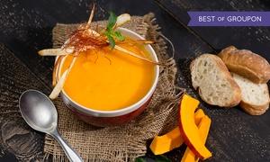 Pavé dans la Mare: Entrée, plat et dessert au choix pour 2 personnes à 39,90 € au restaurant Pavé dans la Mare