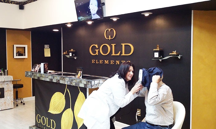 Gold Elements - Gold Elements: Signature Spa Facial w/ Truffle-Infusion Treatment or 1 or 3 Anti-Aging Facials at Gold Elements (Up to 83% Off)