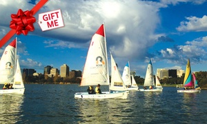 The Boatshed: Three-Hour Intro to Sailing Workshop for One ($45), Two ($89) or Four People ($169) at The Boatshed (Up to $380 Value)
