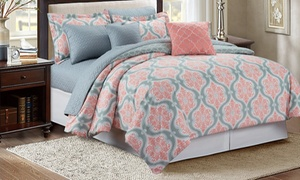 Printed Comforter Set With Matching Quilt (7-Piece) at Printed Comforter Set With Matching Quilt (7-Piece), plus 9.0% Cash Back from Ebates.