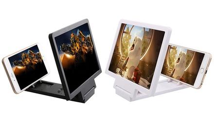 1 of 2 schermvergroters voor alle smartphones, tot 5 keer de oorspronkelijke grootte
