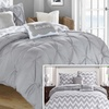 Pinch-Pleat and Chevron Reversible Comforter Sets (7- or 9-Piece)