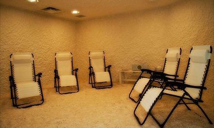 One or One Month of Unlimited 45-Minute Salt-Therapy Sessions at The Salt Room (Up to 57% Off)