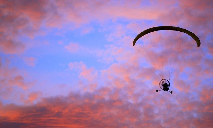 Powered Parachute Instruction - Dunnellon: 30- or 45-Minute Powered Parachute Flight for One or Two at Powered Parachute Instruction (Up to 50% Off)