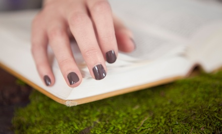 One or Two Shellac Manicures or a Shellac Polish Change Appearance Center at Nails by Natasha (Up to 54% Off)