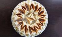 5 ou 9 mezzés froids et 4 ou 7 mezzés chauds à partager avec 1 dessert pour 2 ou 4 personnes dès 34,90 € au Al Mandaloun