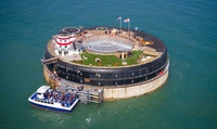 Three- or Four-Course Lunch with Boat Transfers and Fort Tour for Up to Four at No Mans Fort