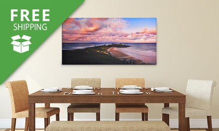 Free Shipping: for a Personalised Canvas Print Don't Pay up to $239.95