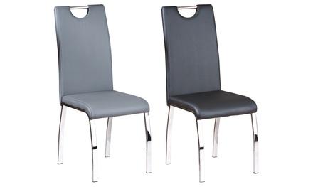 Set di 2 sedie imbottite
