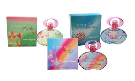 Salvatore Ferragamo Incanto Fragrances for Women (1.7 or 3.4 fl. oz.)