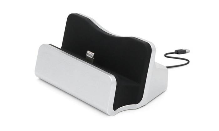 Desktop Iphone Charging Dock Groupon