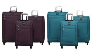 Skyway Greenwood Expandable Spinner Luggage Set (3-Piece)