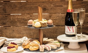 Hawkers Bar and Brasserie: Afternoon Tea with Optional Prosecco for One, Two or Four at Hawkers Bar and Brasserie (Up to 50% Off)