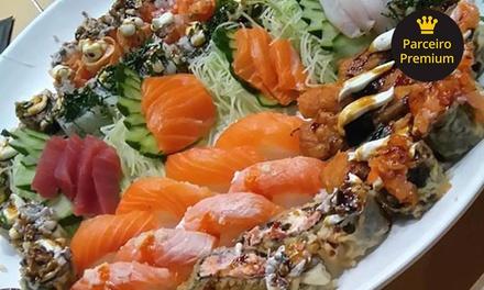 Rodízio japonês com sobremesa para 1, 2 ou 4 pessoas na Temakeria & Cia – Shopping ABC