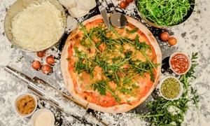 Porto Pino: Pizzas de masa fina para 2, 4 o 6 personas con entrante, principal, postre y bebida desde 18,95 € en Porto Pino