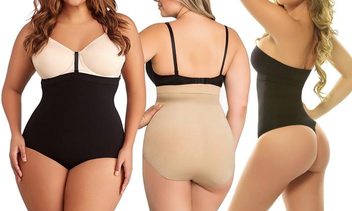 High-Waisted Women's Shapewear Undergarments | Groupon