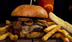 Under Review: $5, $12, or $24 Toward Food and Drink at Under Review (Up to 50% Off)
