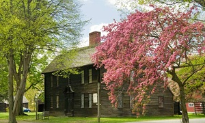 Historic Deerfield: Colonial Living Museum Visit for Two or Four, or Family Membership to Historic Deerfield (Up to 48% Off)