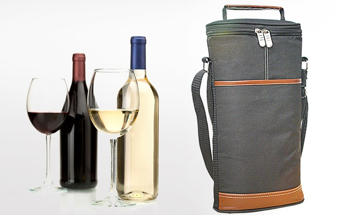 Wine Travel Carrier and Cooler Bag: Wine Travel Carrier and Cooler Bag. Free Shipping and Returns.
