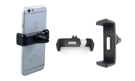 Soporte giratorio de smartphone para el coche por 3,99 € (79% de descuento)