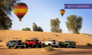 Balloon Adventures: One-Hour Hot Air Balloon Ride with Falconry and Breakfast for One or Two at Balloon Adventures (Up to 25% Off)