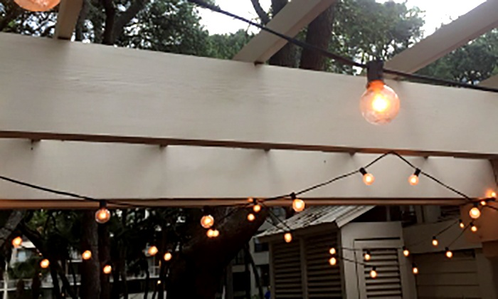 20 lampadine ad energia solare groupon - Lampade da esterno ad energia solare ...