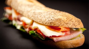 Habibi Sandwiches & Smoothies: 60% off at Habibi Sandwiches & Smoothies