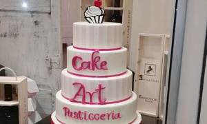 Pasticceria Cake Art: Fino a 3 kg di pasticceria o torte personalizzate con cake design alla Pasticceria Cake Art (sconto fino 57%)