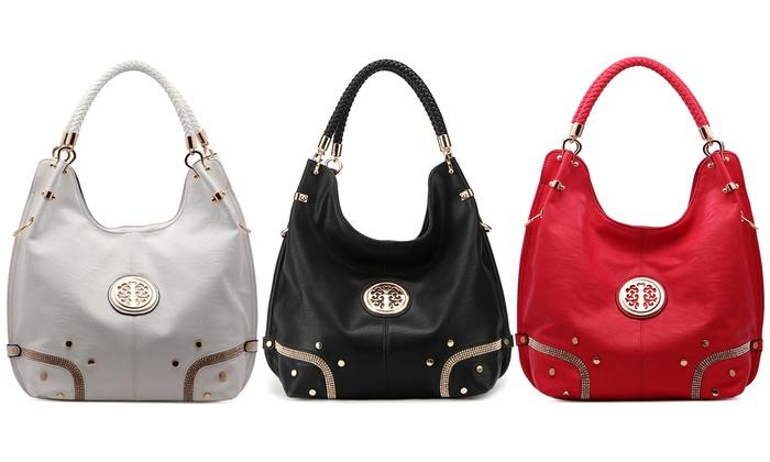 MKF Collection Lori Hobo Handbag