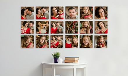 Peel & Stick Premium Photo Canvas Prints from Printerpix (Up to 87% Off). Six Options Available.