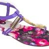 Jeffrey D. Fairy Women's Crystal Gladiator Sandals (Size 6)