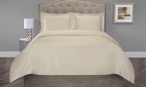 100% Organic Cotton Duvet Cover Set (2- or 3-Piece)