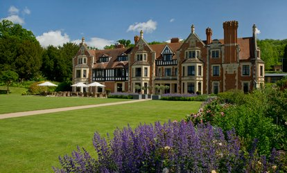 image for Traditional or Champagne Afternoon Tea for Two or Four at Wood Norton Hall Hotel (Up to 42% Off)