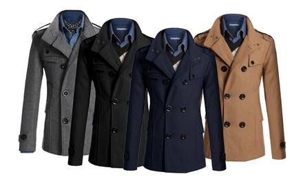 Eleganter Herren-Mantel in der Farbe nach Wahl