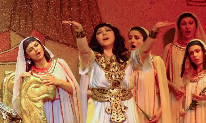 """Aida"" - Miramar Cultural Center/ArtsPark: Miramar Cultural Center Presents Verdi's ""Aida"" on Saturday, January 23, at 8 p.m."