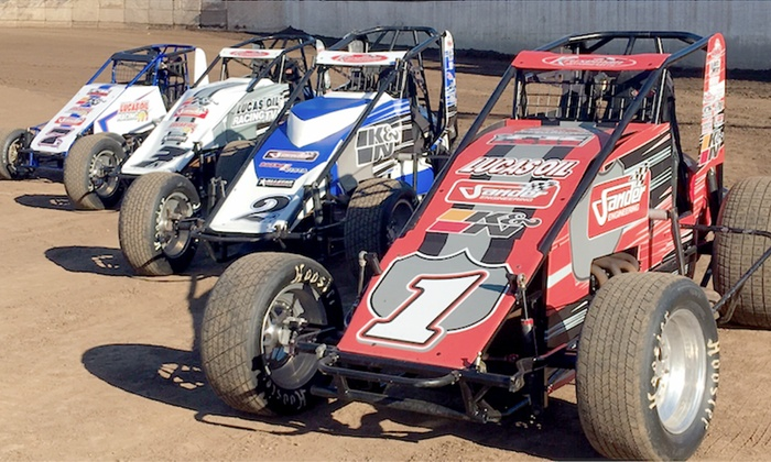 Sprintcar and midget racing