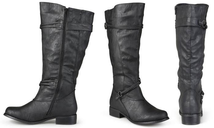 341f0a3d0326 Up To 58% Off on Journee Women s Riding Boots