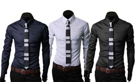 1 o 2 camisas para hombre fashion desde 19,90 € (hasta 56% de descuento)