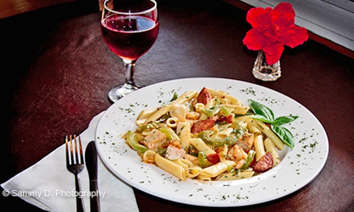 The Olive Branch Café - Multiple Locations: Italian Cuisine for Two, Four, or More at The Olive Branch Café (Half Off)