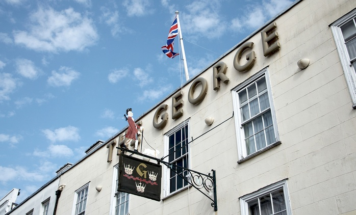 Colchester: 1 to 2 Nights for Two with Brakfast, Dinner and Cream Tea at The George Hotel