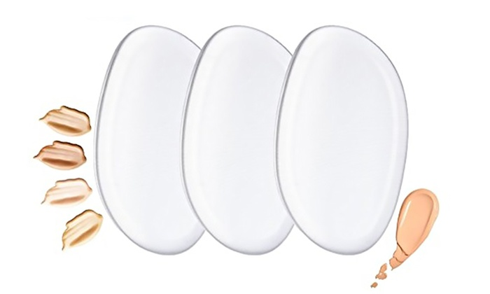 Deal Genie: Pack of Three (AED 49) or Six (AED 79) Silicone Make-Up Blending Sponges