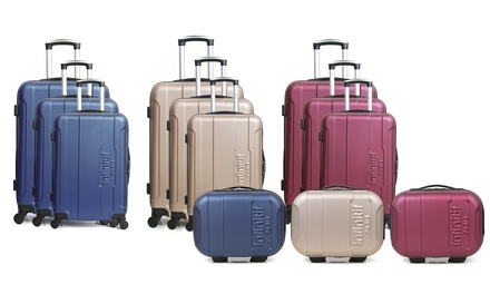 Infinitif Vanity Rostock Suitcase or/and ThreePiece Grenade Suitcase Set in Choice of Colour